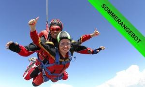Air Sport: Wertgutschein über 100 € anrechenbar auf einen Tandemsprung im Air-Sport Fallschirmsprungzentrum Odenwald