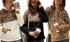 Leo Rosi Women's Leopard Fleece Pullover. Plus Sizes Available.