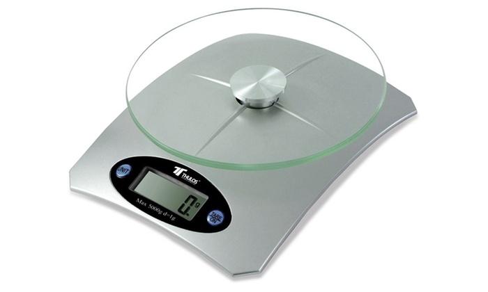 B scula de cocina digital groupon goods for Bascula de precision cocina