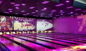 Up to 58% Off Bowling Package or Party at 7Ten Social at 7Ten Social, plus 6.0% Cash Back from Ebates.