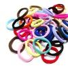 Creaseless Sporty Elastic Fabric Hair Ties (40-Pack)