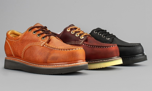 Moc-Toe Oxford Occupational Work Shoes