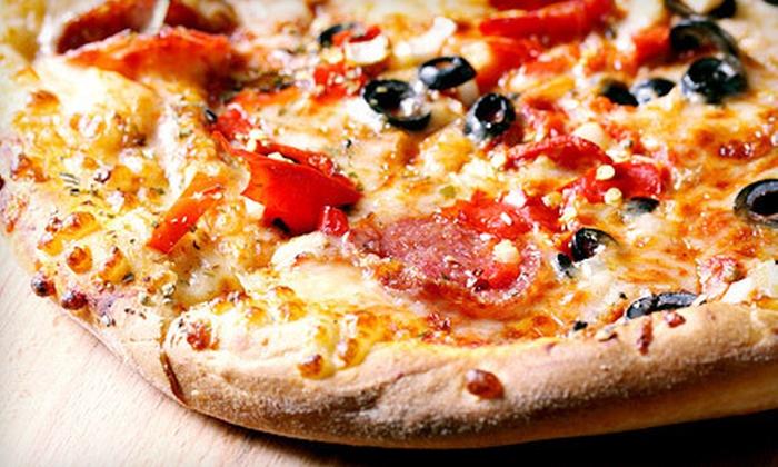 Maxx Pizza Co.  - Murrieta: Casual Italian Food at Maxx Pizza Co. (Half Off). Two Options Available.
