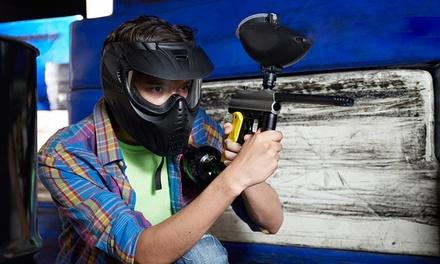 Tageskarte Paintball mit Leihausrüstung für Ein, Zwei, Vier oder Acht bei X-Spot Bottrop (bis zu 57% sparen*)