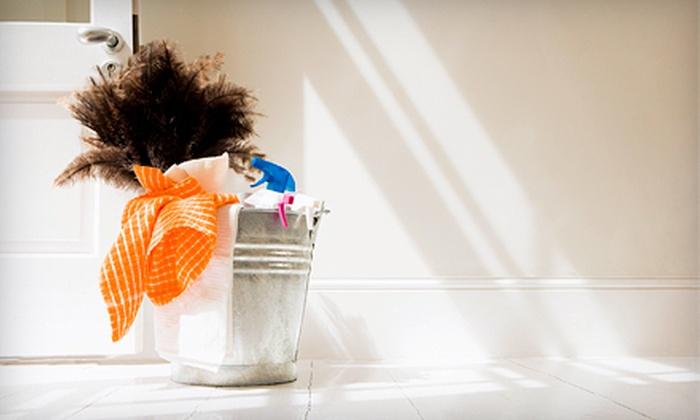 Snap Cleaning - Shreveport / Bossier: Basic or Deep Housecleaning Session from Snap Cleaning (51% Off)