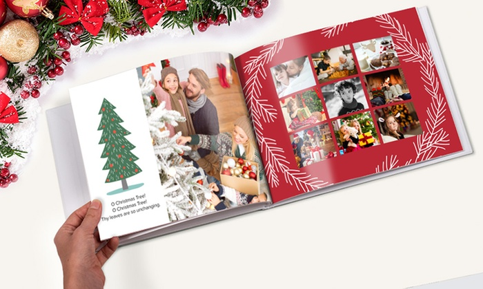 One 40-Page Imagewrap Hardcover Photobook from Photobook America (Up to 79% Off). Multiple Sizes from $9.99–$26.99.