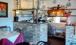 Ristorante Pizzeria Ulivo: Menu di pesce fresco da 4 portate e vino al Ristorante Pizzeria Ulivo (sconto fino a 58%)