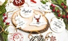 Up to 69% Off Custom Porcelain Christmas Ornament from Qualtry