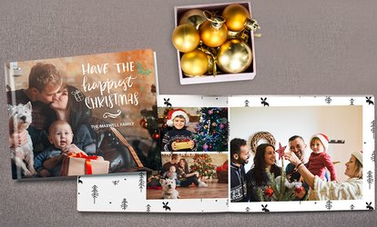 image for Layflat Imagewrap Hardcover Photobooks in Landscape, Portrait, or Square Style from Photobook America (Up to 91% Off)