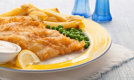 Cod + Soft Drink for 1 ($8.90) or 2 ($17.50), or Snapper, Barramundi or Salmon Pack for 2 ($20) or 4 ($40) at Seachange