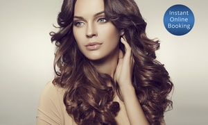 HairFanatic: Hair Pamper Package + Wine & Choice of Style Cut ($49) or Foils, Toner & Trim ($79) at HairFanatic (Up to $310 Value)