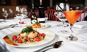 Adriatic Grill: Seasonal Italian Cuisine and Drinks for Two or Four at Adriatic Grill (46% Off)
