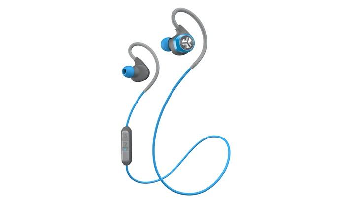 jlab epic bluetooth waterproof in ear headphones groupon. Black Bedroom Furniture Sets. Home Design Ideas