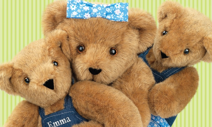 Vermont Teddy Bear - Victoria: Specially-CraftedTeddy Bears from Vermont Teddy Bear (Up to 51% Off). Two Options Available.