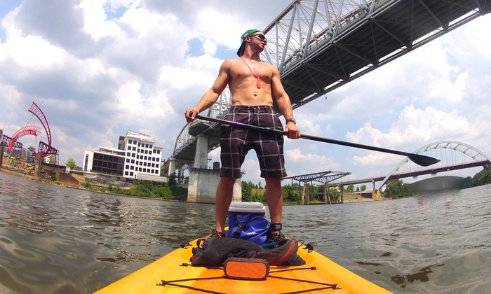 Big Willie's Action Sports - Cumberland Park: Standup Paddleboard Tour or Rental Downtown for Two or Four from Big Willie's Action Sports (Up to 62% Off)