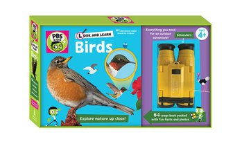 PBS KIDS Look and Learn Birds Set (4-Piece)