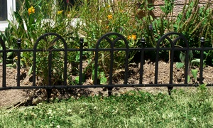 Victorian Garden Border Fencing Gate (4-Pack)