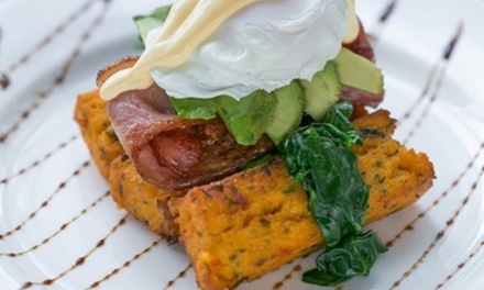 AllDay Breakfast or Lunch with Coffee for Two $24 or Six People $72 at D'Vine Licensed Cafe Up to $140.40 Value