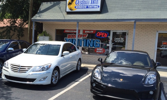 Custom Tint - Multiple Locations: Window Tinting for a Two- or Four-Door Car or SUV at Custom Tint (47% Off)