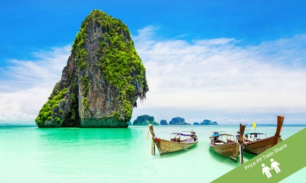 ✈ Thailand: From $1,099PP for 6N at 4*Diamond Cottage Resort & 4N at 4*Centra by Centra Coconut Beach Samui with Flights