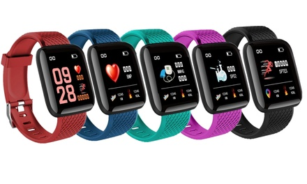 $19.95 for a Colour Screen Smart Sports Activity Tracker with Heart Rate Monitor in a Choice of Colour