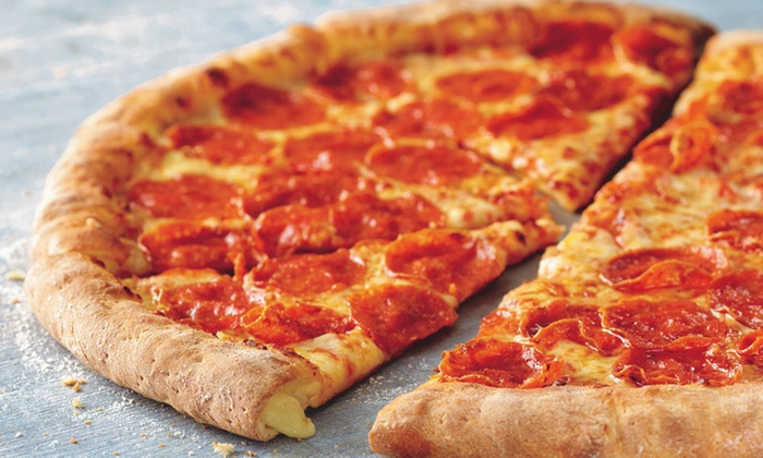 Large Pizza Side And Large Drink Papa Johns Groupon