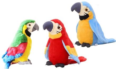 Talking Parrot Plush Toy