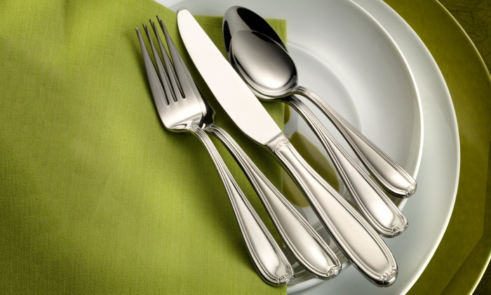 Pfaltzgraff Everyday Stainless Steel Flatware Sets 20