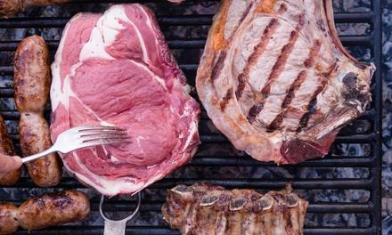 1,2 kg di grigliata di carne e vino a 29,90euro
