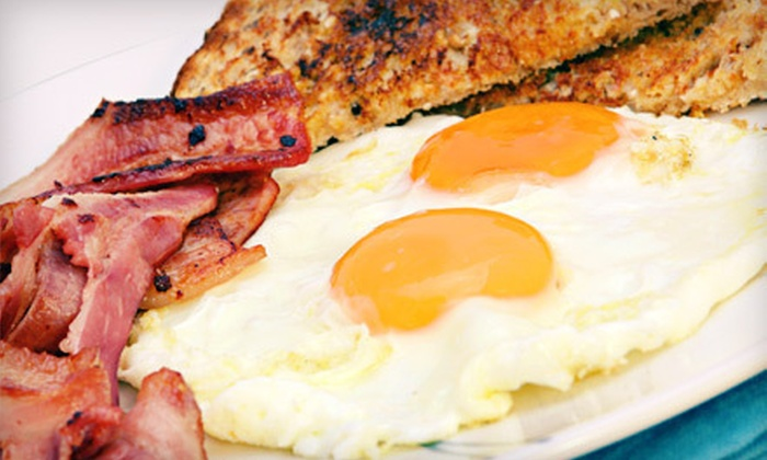 Cafe on Franklin - Downtown: $10 for $20 Worth of American Breakfast or Lunch Fare at Cafe on Franklin