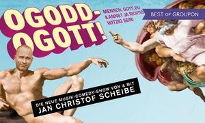 Gruenspan: Ogoddogott – die neue Show von Jan-Christof Scheibe am Termin nach Wahl im Gruenspan Hamburg (31% sparen)