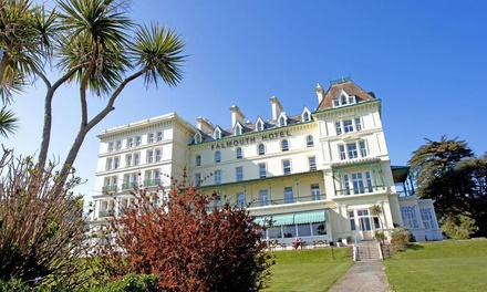 Cornwall: 1 or 2 Nights for Two with Breakfast and Leisure Access at The Falmouth Hotel