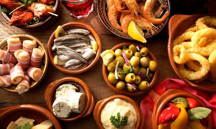 Überraschungs Tapas Platte mit verschiedenen spanischen Köstlichkeiten im Tapitas Radebeul (35% sparen*)