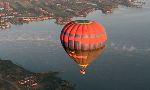 Life Ballooning: Weekday Sunrise Balloon Flight for Two with Breakfast and Sparkling Wine for R2 730 with Life Ballooning (65% Off)