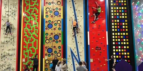 Admission to Jump Station Trampoline or Family Adventure Package at The Play Station (Up to 36% Off)