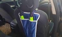 מעמד מטריות נייד לרכב