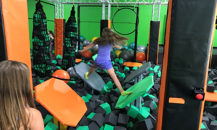 Jump Passes or Party Packages at Rockin Jump - Shrewsbury (Up to 50% Off). Six Options Available.