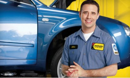 image for Texas State <strong>Inspection</strong> or Four-Wheel-Alignment Package at Meineke Car Care Center (Up to 46% Off)