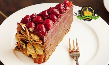 Kaiserhaus: $30 for Sissi's Variety Cake Box at Capitol Piazza (worth $56.18). More Options Available