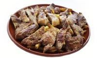 Menú para 2 o 4 con ensalada a compartir, parrillada de ibéricos, postre y bebida desde 19,95 € en Hombre Lobo Grill
