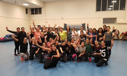 Ten BollyDance Fitness Sessions at BhangraBlaze