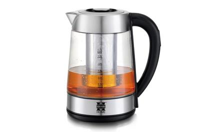 SUPER PROMO Bouilloire infuseur à thé LED Herzberg avec température réglable