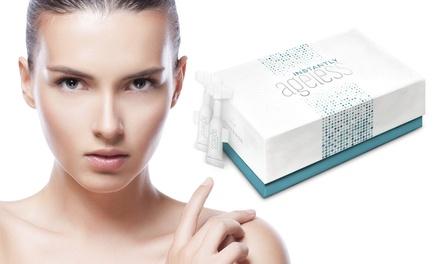 5, 10 ou 25 ampoules Instantly Ageless™ qui fortifient, raffermissent, soulèvent et améliorent lapparence de la peau