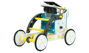 STEM Genius 14-in-1 Solar Vehicle Robot Kit Educational Kids Toy
