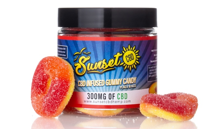 Up To 70% Off on CBD Gummies from Sunset CBD | Groupon Goods