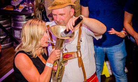 Bavarian-Themed Night with Live Band, Beer, Hot Dog and Service for Up to Four at Bierkeller Taunton (Up to 50% Off)