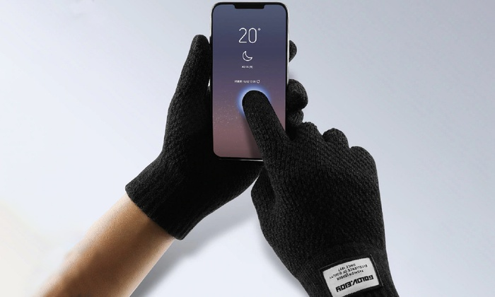 touchscreen handschuhe f r herren groupon. Black Bedroom Furniture Sets. Home Design Ideas