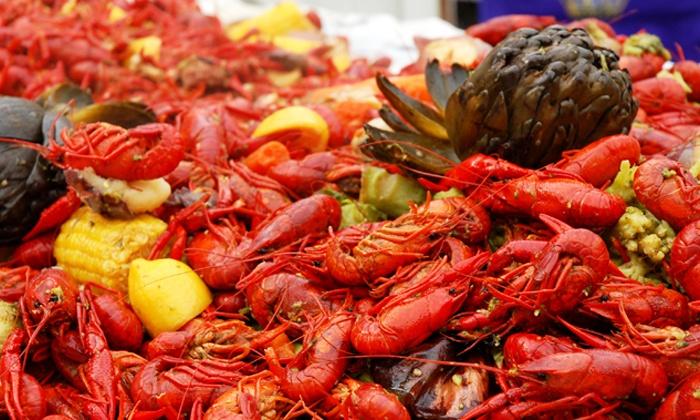 30TH Annual Texas Crawfish Festival - Festival Grounds: 30th Annual Texas Crawfish Festival (April 29–May 8)