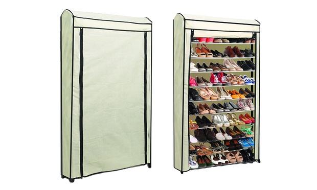 armoire à chaussures 50 paires