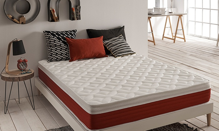 matelas de luxe visco lastique groupon. Black Bedroom Furniture Sets. Home Design Ideas